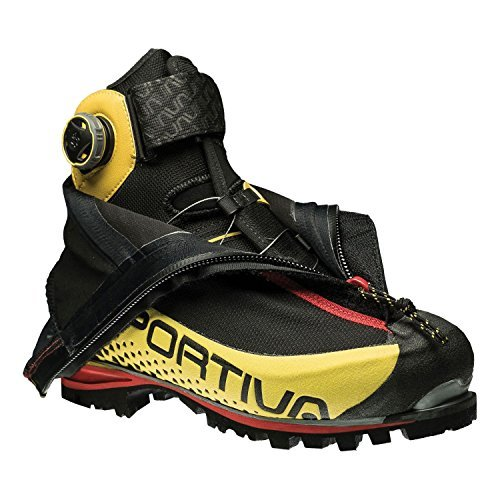 La Sportiva G5 Hiking Shoe, Black/Yellow, 45