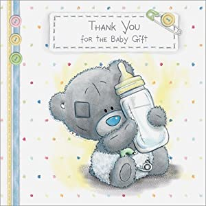 Me to You Tatty Teddy Baby Gift Thank You Cards - Pack of 10 ...