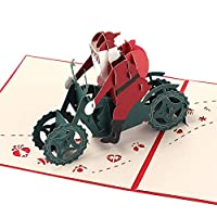 Lurryly❤ Details about 3D Pop Up Card Christmas Greeting Baby Gift Holiday Happy New