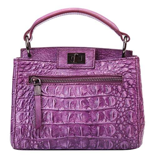 Lederleiter Europa Bolso Bandolera, Bolsos Mujer Cuero Bolso de Hombro Bolso Shopper Callejero Bag