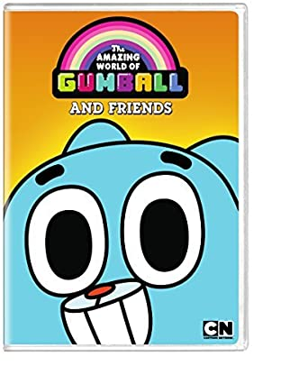 Amazon Com Cartoon Network The Amazing World Of Gumball The Dvd Movies Tv