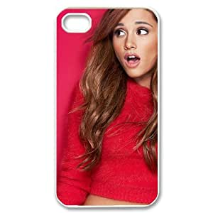 WAKEUP Customized Print Ariana Grande Pattern Back Case for iPhone 4/4S