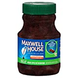 Maxwell House Original Blend Decaf Instant Coffee, Medium Roast, 8 Ounce Jar (Pack of 12)