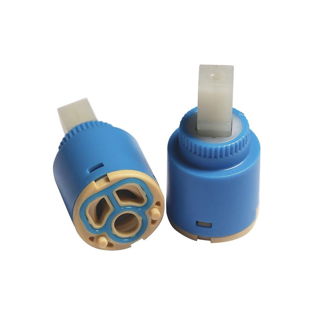 /pezzi 25/mm//35/mm//40/mm tre fori split misto caldo e freddo rubinetto cartuccia 25 mm Ceramica Rubinetto in ceramica cartuccia di ricambio/