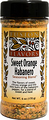 Orange Habanero (Fusion Flavors Sweet Orange Habanero, 6 oz)