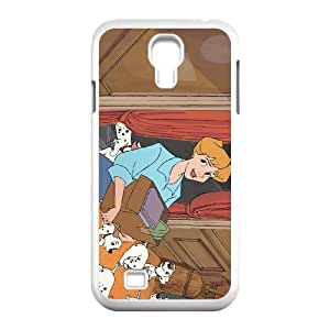 Samsung Galaxy S4 9500 Cell Phone Case Covers White 101 Dalmatians Character Anita Radcliffe TQ7184402