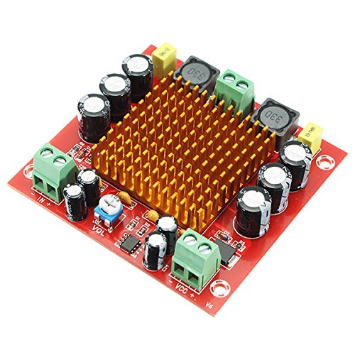 M544 12V 24V 150W TPA3116DA TPA3116 D2 Mono Channel Digital Power Audio Amplifier Board - Arduino Compatible SCM & DIY Kits Module Board - 1 x TPA3116D2 Mono 150W Digital - Digital Amplifier 150 Watt