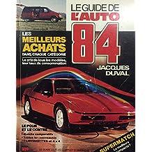 Guide de l'auto 1984 -le