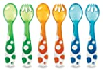 Munchkin 14905 6 Piece Fork and Spoon...