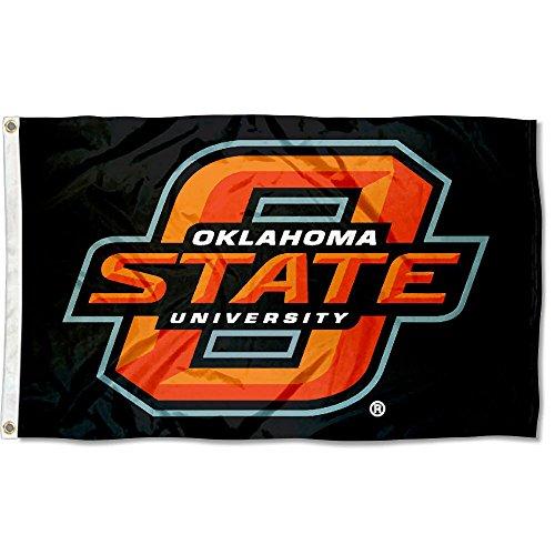 Oklahoma State University Logos - Oklahoma State Cowboys OK State University Large College Flag