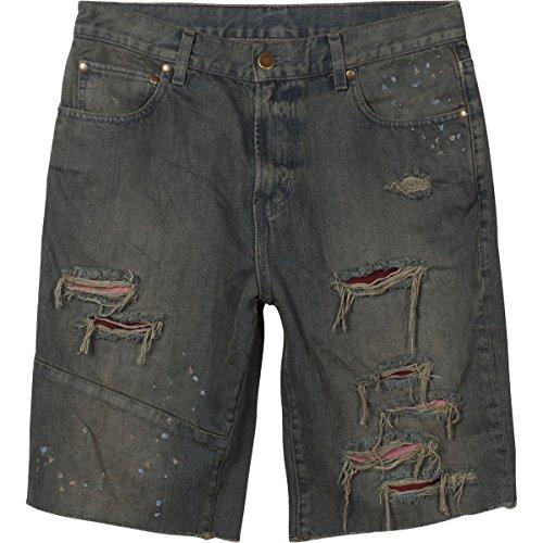 LRG Mens Stroker Denim Short 34 (Lrg Men Jean)