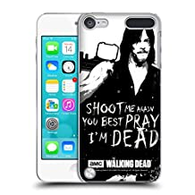 Official AMC The Walking Dead Daryl Shoot Quotes Hard Back Case for iPod Touch 5th Gen / 6th Gen