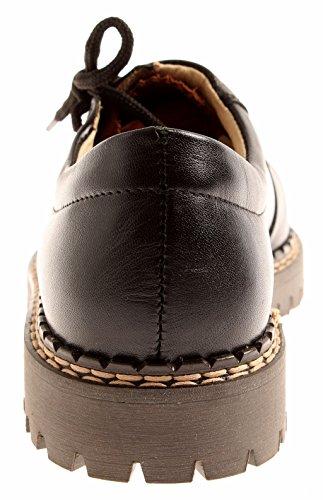 Chaussures Lacets 7005 en Basses Chaussures Classique en Chaussures 37 Cuir Richter à Noir Cuir wqtHAx