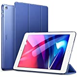 ESR iPad 9.7 2018/2017 Case,Lightweight Smart Case Trifold Stand with Auto Sleep/Wake Function,Microfiber Lining,Hard Back Cover Compatible for The Apple iPad 9.7 iPad 5th/6th Generation,Navy Blue