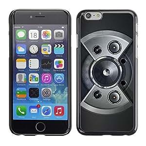 Be Good Phone Accessory // Dura Cáscara cubierta Protectora Caso Carcasa Funda de Protección para Apple Iphone 6 Plus 5.5 // Speaker Design