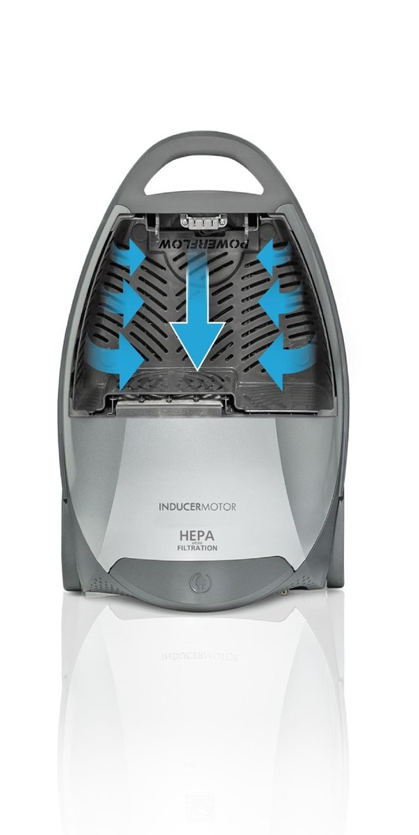 Kenmore Floorcare Elite Pet Friendly Crossover Canister Vac, Silver/Gray by Kenmore (Image #4)