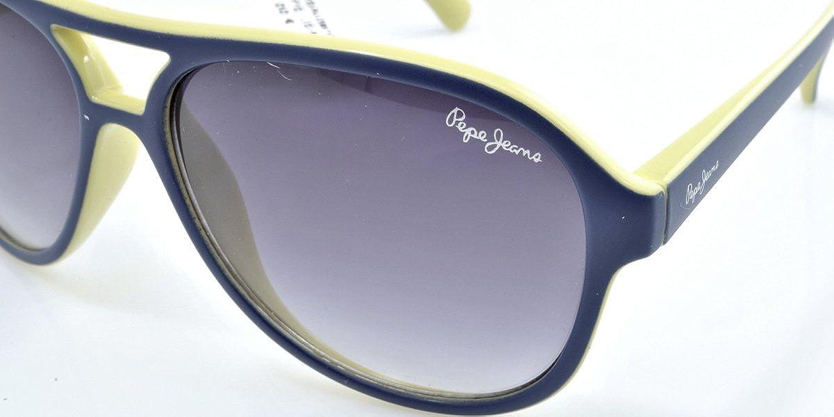 68174e1274f84d Lunettes de soleil Pepe Jeans 8026 Aiden Bleu Aviator  Pepe Jeans   Amazon.fr  Vêtements et accessoires