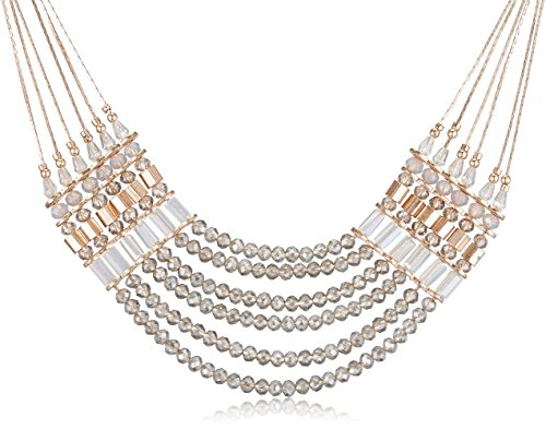 Accessorize Collar Necklace for Women (Pastel and Multi-Colour) (MN-18242201001)