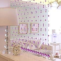 Crystal Bead Moon Curtains