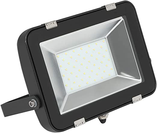 Biard Foco Proyector 50W LED para Exterior - Equivalente a 250W ...