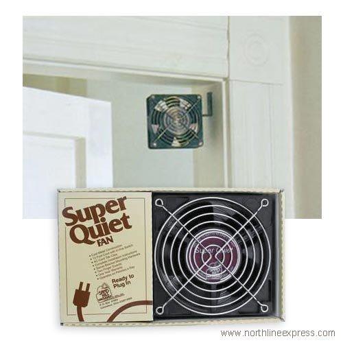 Best Quality Super Quiet Fan By Firewood Racks&More (Doorway Fan)