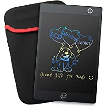 Colorful tablet de escritura LCD–Portable Junta de texto, Negro