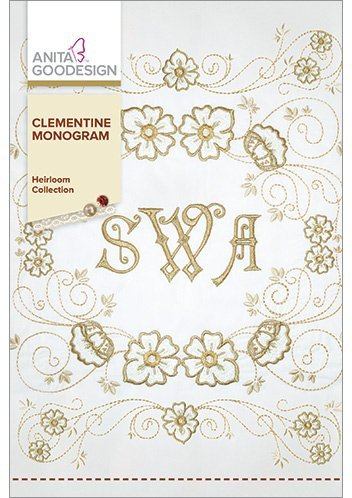 (Anita Goodesign Embroidery Designs Clementine Monogram)