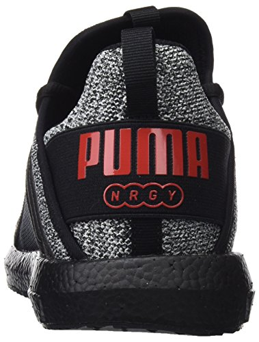 de Mega Cross flame Puma Scarlet Chaussures Homme Black puma Noir NRGY White Puma Knit BHxgIqq