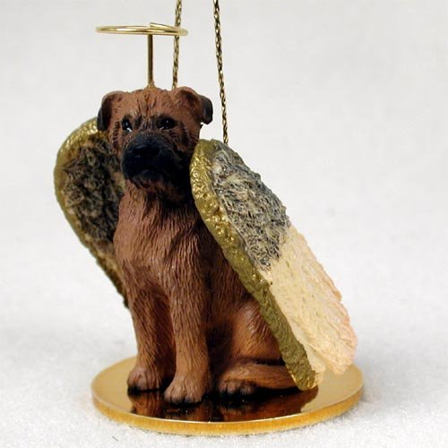 Bullmastiff Angel Dog Ornament