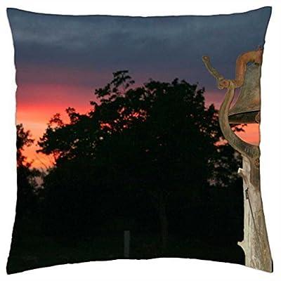Kentucky sunset - Throw Pillow Cover Case (18