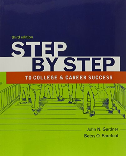 Step by Step To College and Career Success 3e, & Insider's Guide to Credit Cards & Insider's Guide to Community