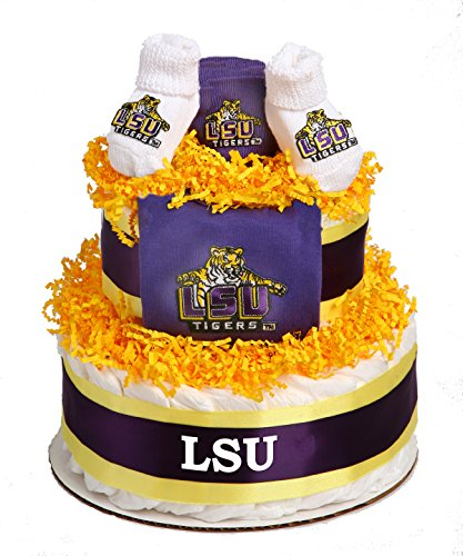 Collegiate Diaper Cakes - Baby Gifts for the Sports Fan--...