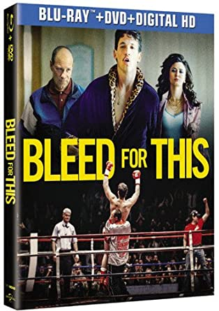 b145c6eec0f Amazon.com  Bleed for This  Blu-ray   Miles Teller