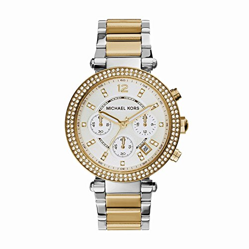 Michael Kors Parker Ladies Watch - Silver/Gold