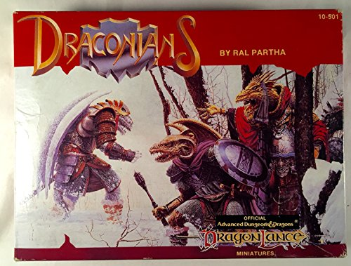 Ral Partha Draconians Miniatures TSR Dragonlance 10-501