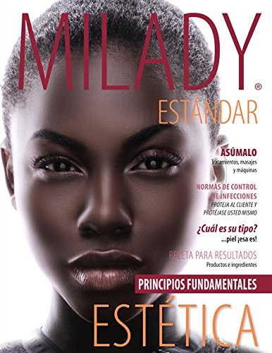 Spanish Translated Milady Standard Esthetics: Fundamentals