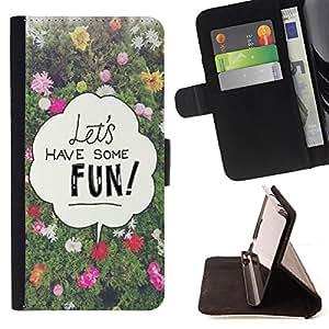 Dragon Case - FOR Samsung Galaxy S6 - have some fun - Caja de la carpeta del caso en folio de cuero del tir¨®n de la cubierta protectora Shell