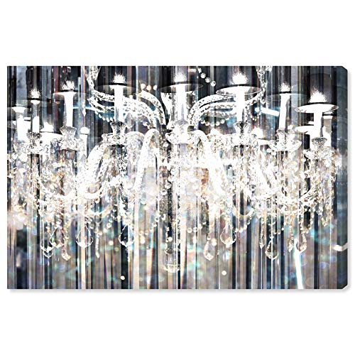 - The Oliver Gal Artist Co. Fashion and Glam Wall Art Canvas Prints 'Diamond Shower' Home Décor, 60