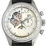 New Mens Zenith El Primero Chronomaster Open Grande Date Moonphase Chronograph Watch 03.2160.4047/01.C713