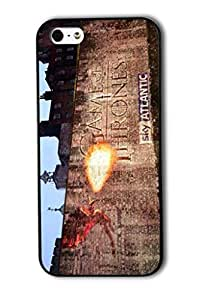 Tomhousomick Custom Design A Song Of Ice And Fire : Game of Thrones Case Cover for iPhone 5 5S 2015 Hot New Style