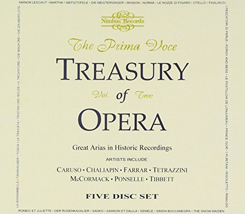 Prima Voce: Treasury of Opera 2 / (Best Unknown Opera Musics)