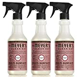 Mrs. Meyer's Multi-Surface Everyday Cleaner, Rosemary, 16 Fluid Ounce (Pack of 3)