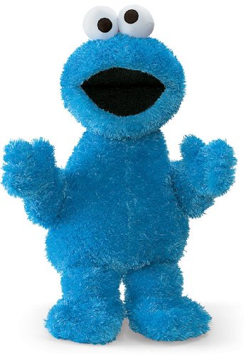 Gund Sesame Street Cookie Monster Stuffed Animal, 21 inches