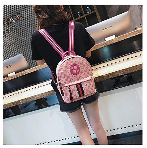 Rose Bonbon main Sac au à bonbon Rose rose porté femme dos pour HCXIN PT7Sqxw7