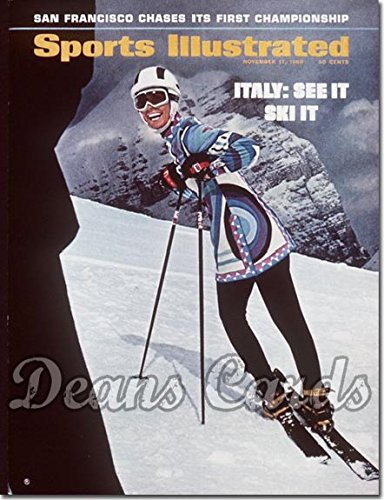 Sports Illustrated November 17 1969 - Ski Model (Magazine...