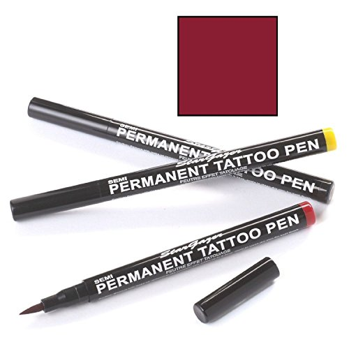 Stargazer Semi Permanent Tattoo Pen 08 Fire Red