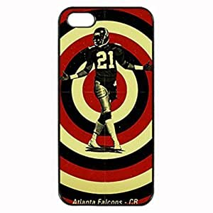Atlanta Falcons Neon Deion Ppopularo Hard For Apple Iphone 4/4S Case Cover , Fashion Image Case Design, Personalized Custom Diy For Apple Iphone 4/4S Case Cover