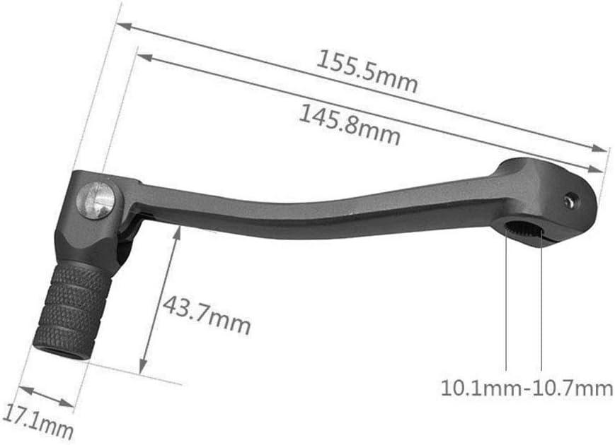 Wildlead Moto CNC en Aluminium Pliable Levier Gear pour Moto ATV Dirt Bike Moto Cross