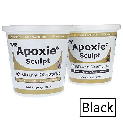 Epoxy Clay Sculpting : Apoxie sculpt lb epoxy clay black crafts store