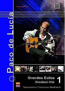 Paco De Lucia: Guitar Tab: Amazon.es: De Lucia, Paco, Guitar, with ...
